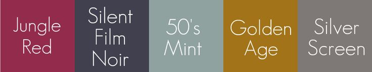 {Oh, So Darling}: Color Palette: Eclectic Hollywood Regency- Indigo, Mint & Garnet