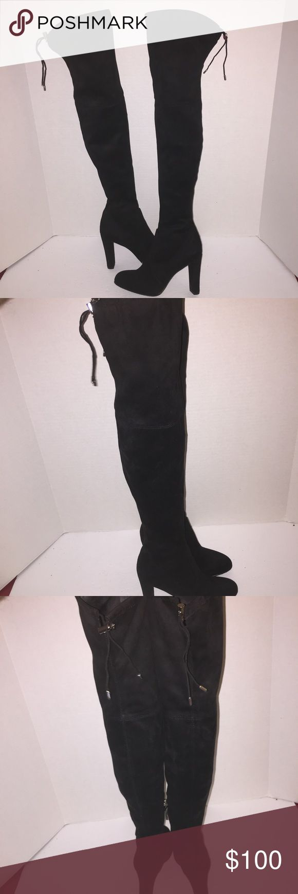 Sam Edelman Kent Over The Knee Stretch Boots sz 6 Worn before no lowball offers , no trades Sam Edelman Shoes Over the Knee Boots