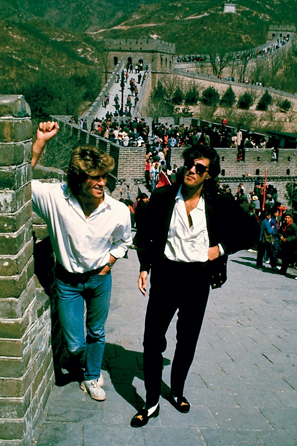 The Great Wall of China (with optional tour guides George Michael & Andrew Ridgeley)