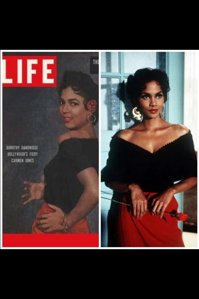 An analysis of a movie about dorothy dandridge starring halle berry