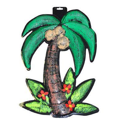 Hawaii wanddecoratie palmboom. Hawaii of tropisch feestje? Bij Fun en Feest vind je de leukste Hawaii feestartikelen, versiering en decoratie.