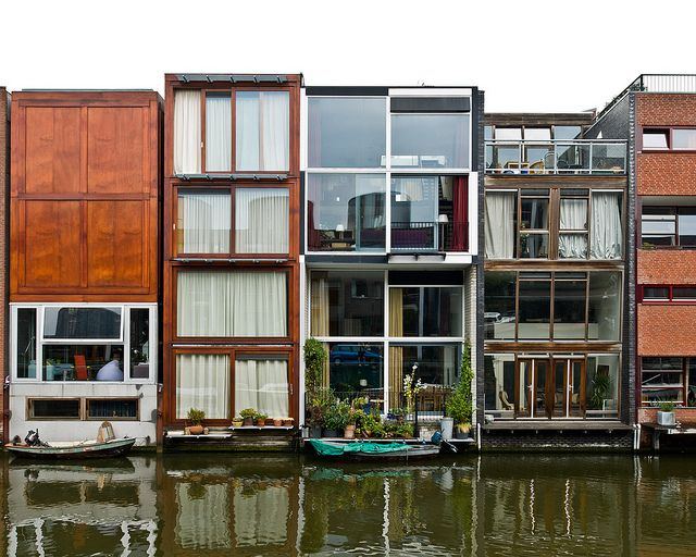 Borneo Sporenburg Waterfront // Amsterdam