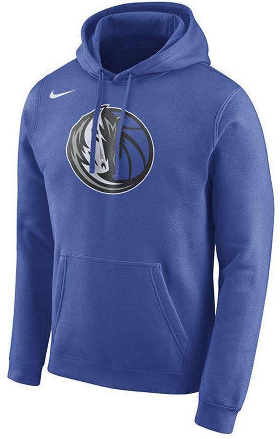 Nike Men's Dallas Mavericks Logo Club Hoodie