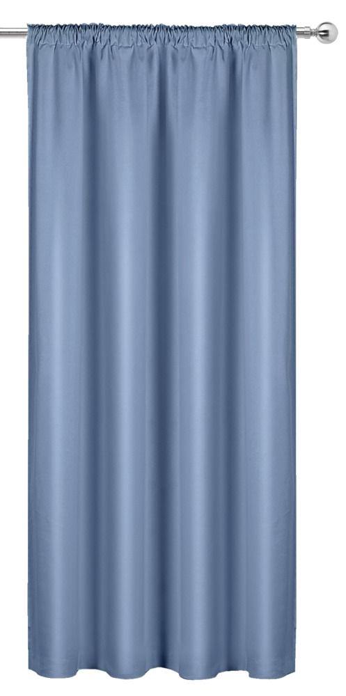 lichtblauwe gordijnen