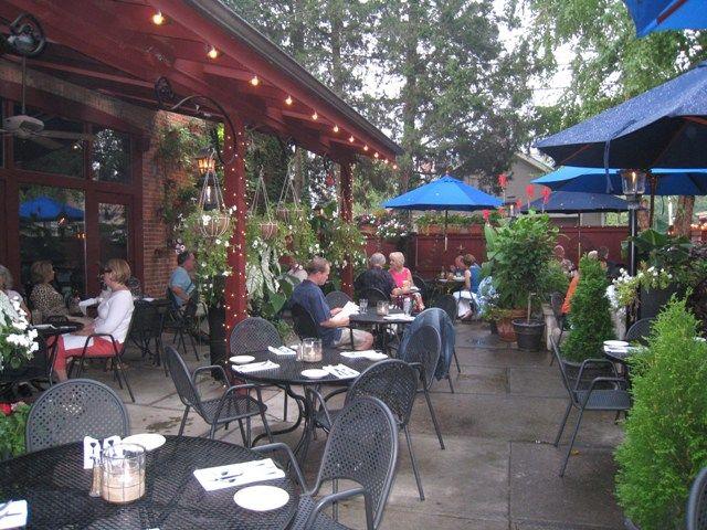 Captivating Barcelona German Village Restaurant Outdoor Dining Patio In Columbus, Ohio