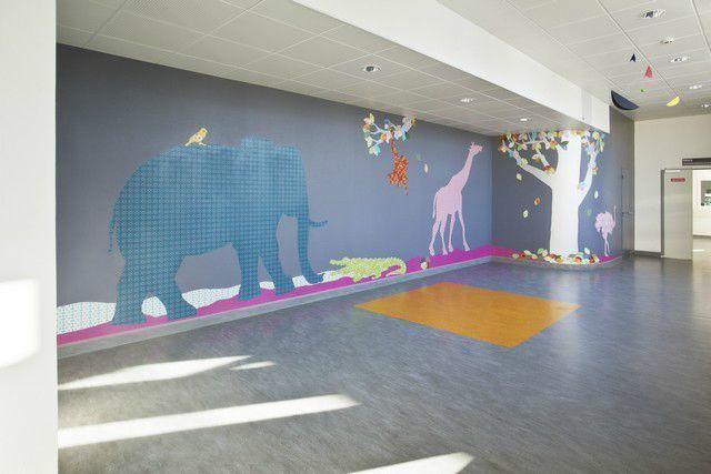 Entre Cha et Ra décore le service pédiatrique de l'hôpital de Lorient!
