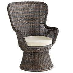 Coco cove swivel chair. I want this for my outdoor patio. Daily #pier1imports posting.