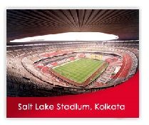 World's seconf largest football stadium is Salt Lake stadium. It is located in Kolkata, India. Complete information about salt lake stadium with images