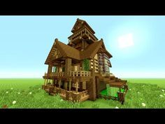 MINECRAFT BIG SURVIVAL HOUSE TUTORIAL!!! [How To Make A Survival Mansion] | Minecraft Stream