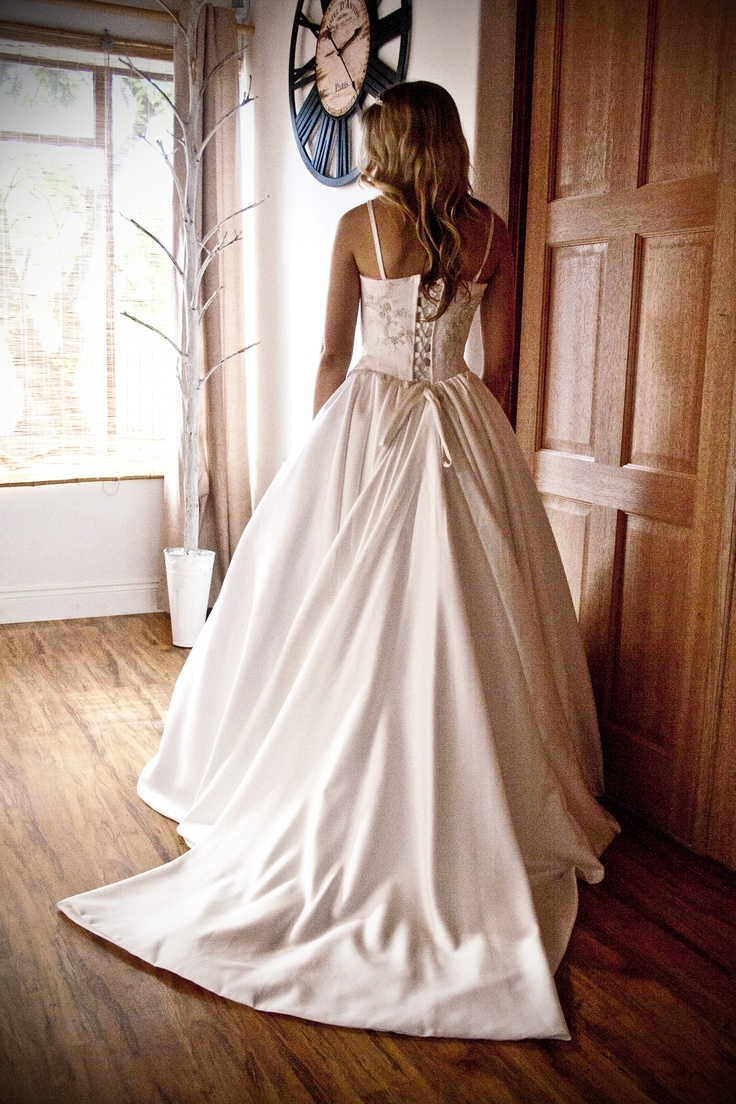 Duchess satin gown - Made with love by Aplomb Couture