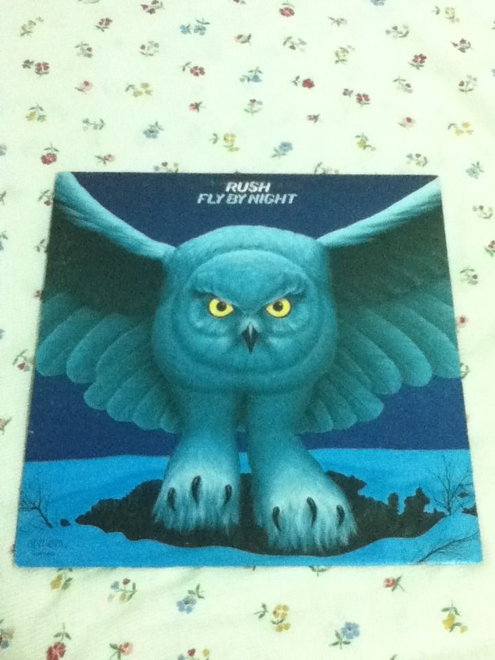 RUSH - Fly By Night - 1977 - Anthem Records - Vintage Vinyl LP Record