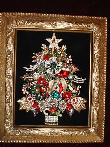 Framed Jewelry Christmas Tree#Repin By:Pinterest++ for iPad#
