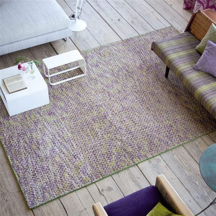Bentham Moss Rug by Designers Guild | ICON Textiles