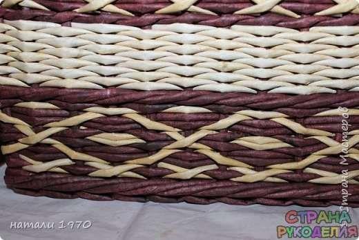 Плетение из газет - Рукоделие - Страна рукоделия