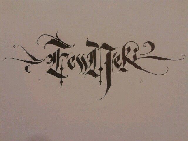 FessNeki - Calligraphy