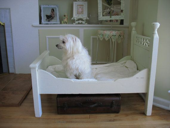 Antique Victorian Toddlers Bed/ Dog Bed/ Doll Bed