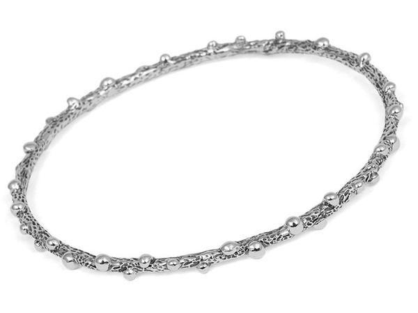 Silver Bangle - Twiglet
