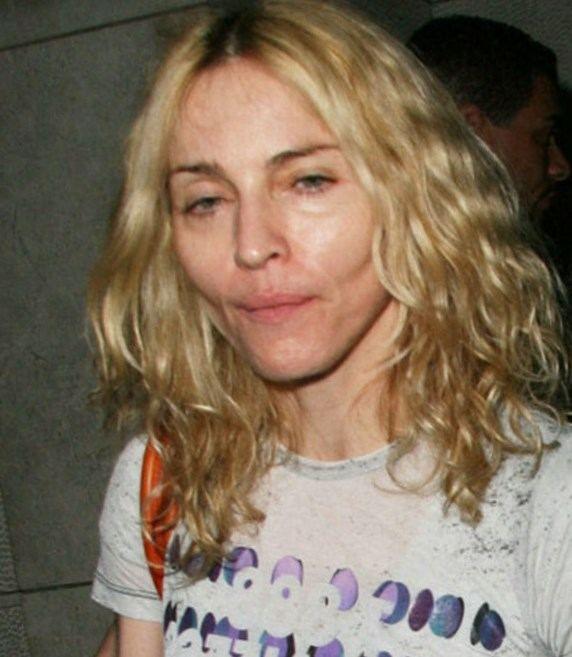 Madonna sans maquillage - http://lookvisage.ru/madonna-sans-maquillage/ #Cheveux #Beauté #tendances #conseils