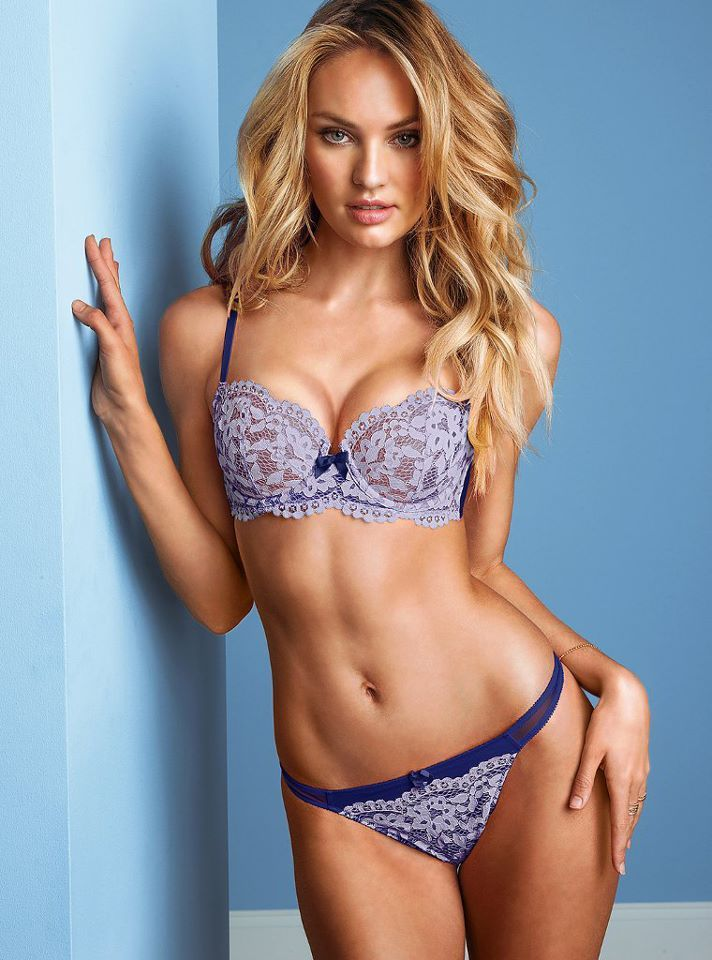 Candice Swanepoel Victoria 39 S Secret Lingerie April 2013 5 Modelos Pinterest Lencer A