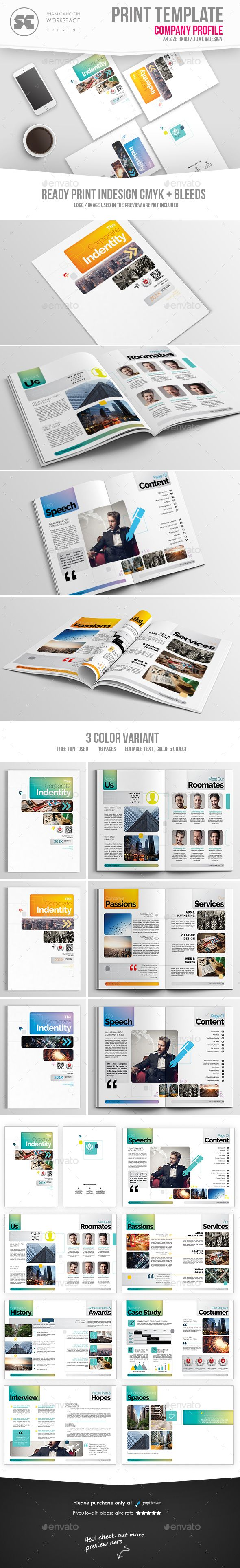 243 best Company Profile Templates images on Pinterest | Brochure ...