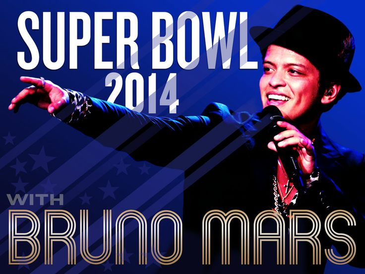Bruno Mars scheduled to perform during 2014  Super Bowl halftime!