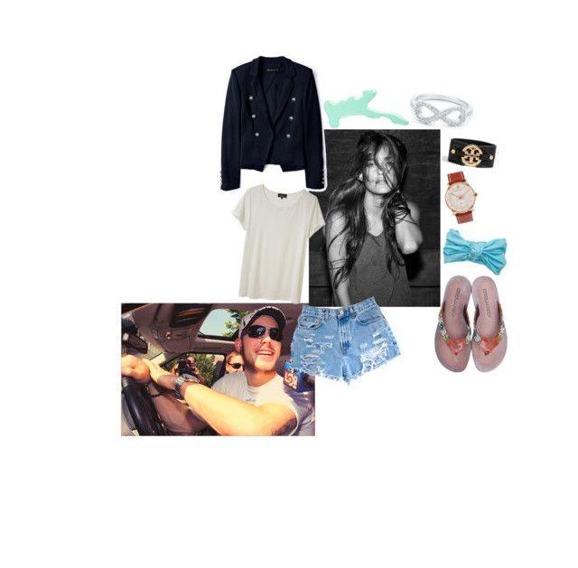 """""""intoxicate me now, with your loving now - wynn novak - pw"""" by vogueapparel ❤ liked on Polyvore featuring HARRISON, A.P.C., Elizabeth and James, Dsquared2, Eugenia Kim, Rolex, Models Own, Tiffany & Co. and Tory Burch"""