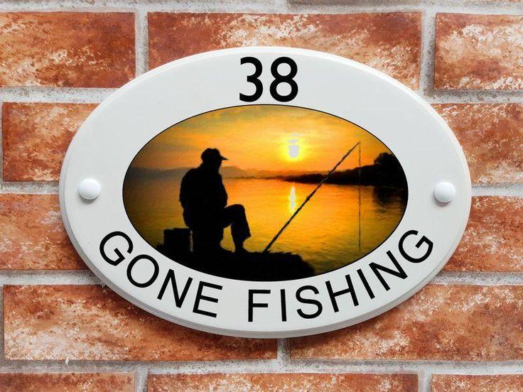 Angler fishing house address sign (code 051)