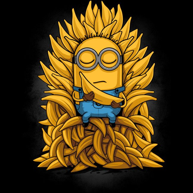 Minion Throne is a Tank Top designed by Naolito to illustrate your life and is available at Design By Humans