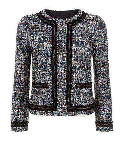 Boutique Moschino Metallic Bouclé Jacket Multi | Harrods