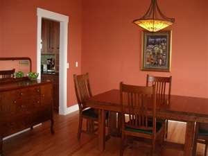Anybody Have Orange Wall Color Home Decorating Forum