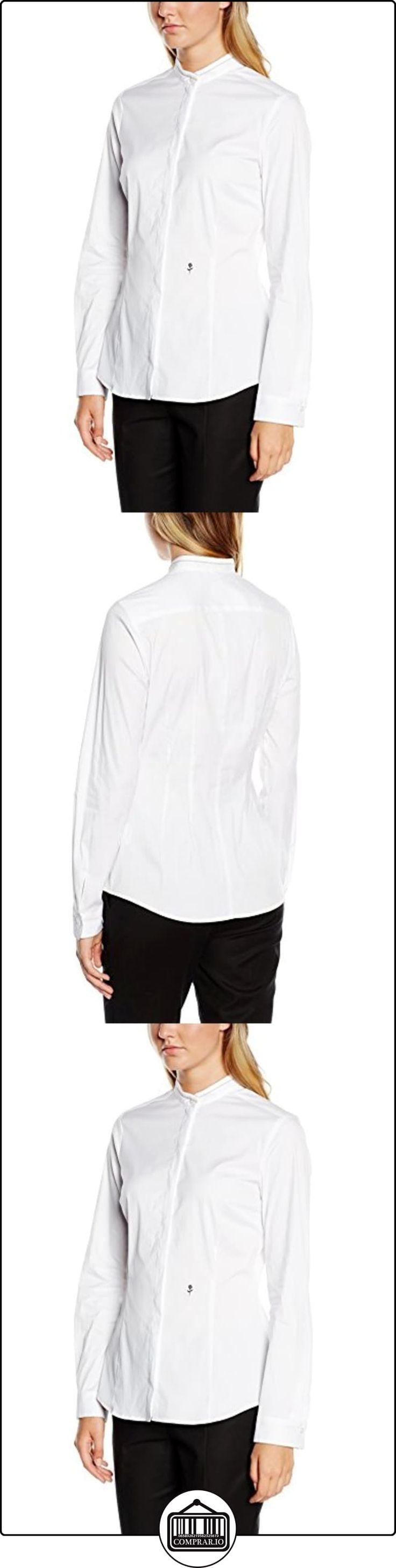 Schwarze Rose CITY-BLUSE 1/1-LANG - Blusa para mujer, color weiß 1, talla 44  ✿ Blusas y camisas ✿