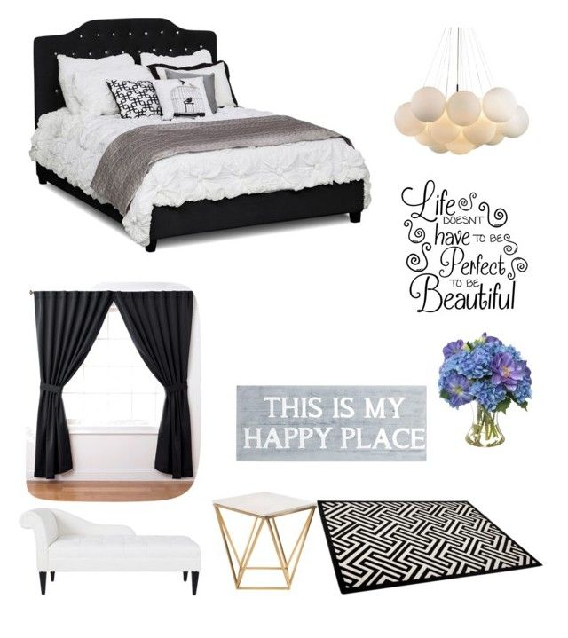 """""""perfect master bedroom"""" by fabulouschloe on Polyvore featuring interior, interiors, interior design, home, home decor, interior decorating, ExceptionalSheets, Diane James, Nuevo and Pier 1 Imports"""