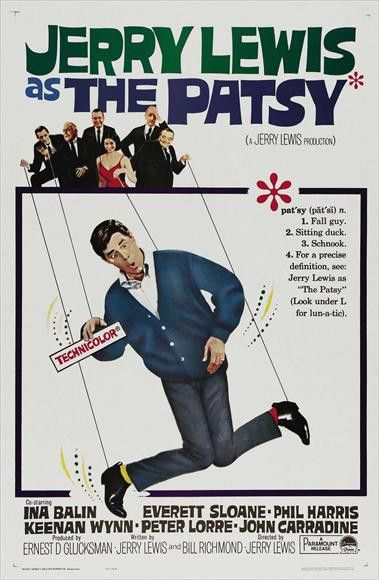 The Patsy (1964) When a popular entertainer meets with an untimely death, his shocked showbiz associates are desperate to find a quick replacement. That replacement is Stanley Belt (Jerry Lewis), a me