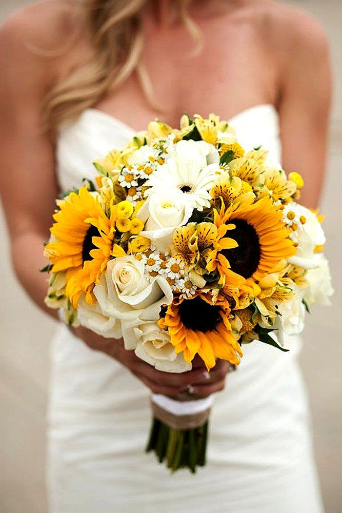 summer little wedding bouquets 2