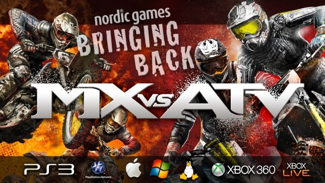 Nordic Games will be reviving the MX vs. ATV series
