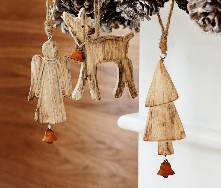 schmuck f r den weihnachtsbaum engel reh und. Black Bedroom Furniture Sets. Home Design Ideas