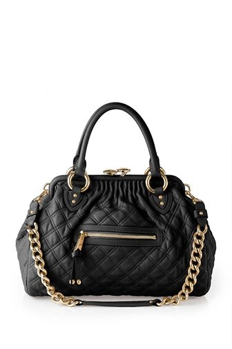Marc Jacobs Black & Gold Bags I know she has a thing for them and owns dozens of them !! Feel free to email her AnnCsincsak@gmail.com and ask to buy them from her as she can only wear one at a time & they cost a ton of money !!
