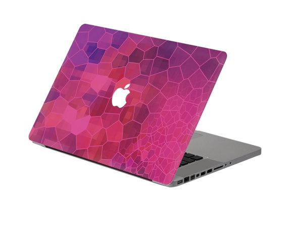 Broken glass mac decal macbook stickers macbook decals for Broken glass mural