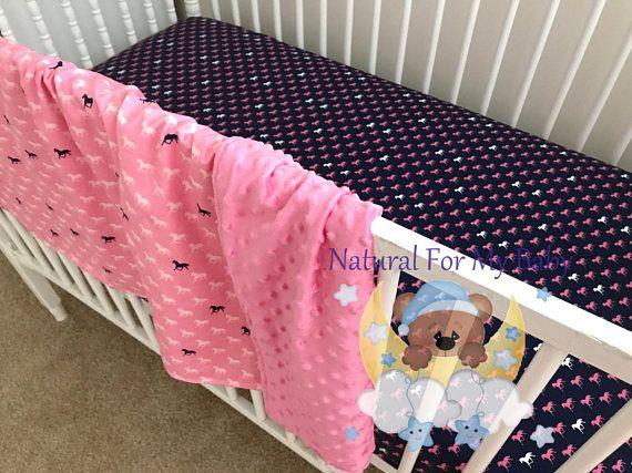 Toddler Girl Bedding Set Horses Toddler Bedding Blanket Horses