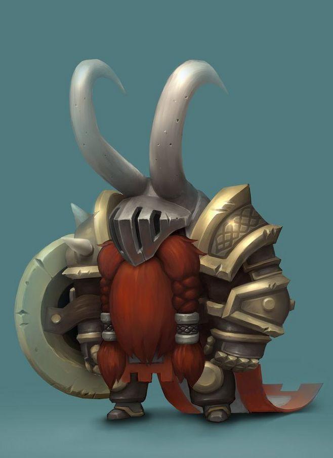 Warrior Dwarf by Mic...