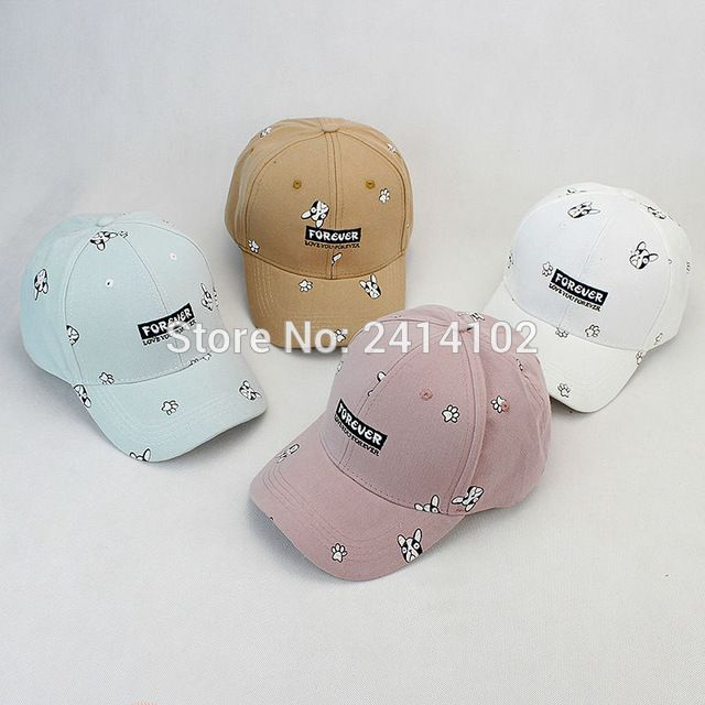 cartoon Dog forever Baseball cap Strapback Adjustable spring sun Hat Snapback Hat Fitted Trucker hat For Women Men Couples hat