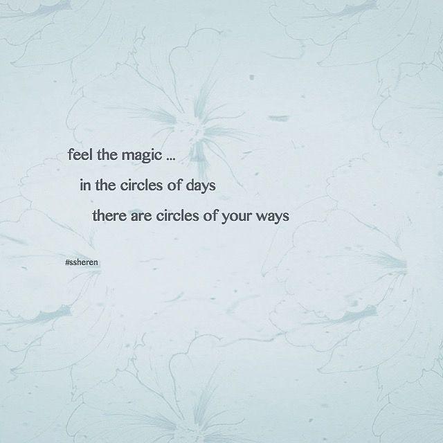 Feel the magic ...