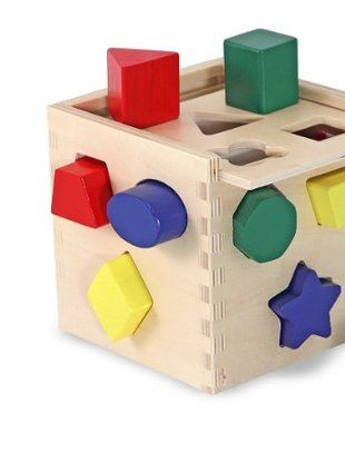 7% OFF Melissa & Doug Shape Sorting Cube