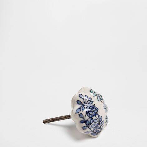 POMELLO CERAMICA DIPINTA (SET DA 2) - Pomelli - Arredo - Nuova Collezione | Zara Home Italia