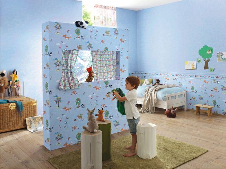 Papel Pintado Rasch Bambino 287448 y Cenefa Infantil c-287646. ¡¡TOTALMENTE NUEVO!! Papeles pintados infantiles para niños y cenefas infantiles a un precio inmejorable, por menos de 60 EUROS. Disponibles en otros colores.