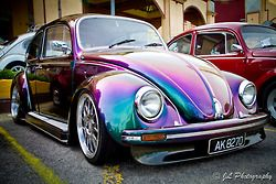 Colourful Volkswagen Beetle..Re-pin brought to you by agents of #Carinsurance at #HouseofInsurance in Eugene, Oregon