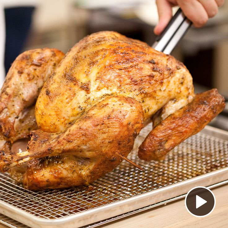 The best way to know when your turkey is done is to temp it. Make sure your Thanksgiving turkey is perfectly cooked by resting the turkey before carving.