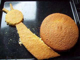 Bla bla et petits plats: Gâteau escargot pour les 5 ans de mon grand