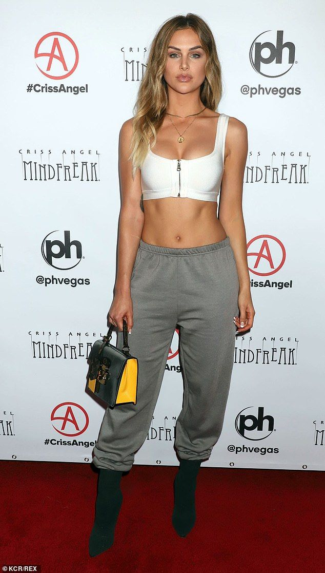 Lala Kent Flaunts Her Enviable Figure In Sports Bra And Sweatpants
