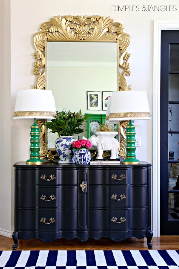 My Five Favorite Paint Colors-Tricorn Black- Dimples and Tangles